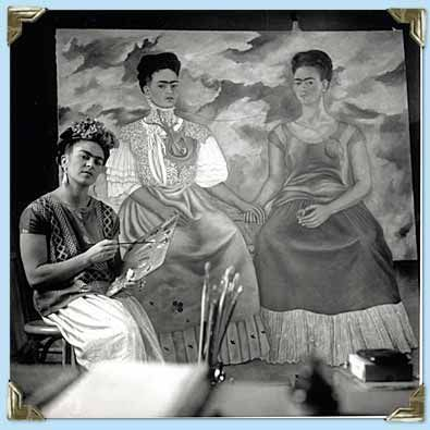 Frida Painting The Two Fridas 1939 40 Was A Mexican Painter