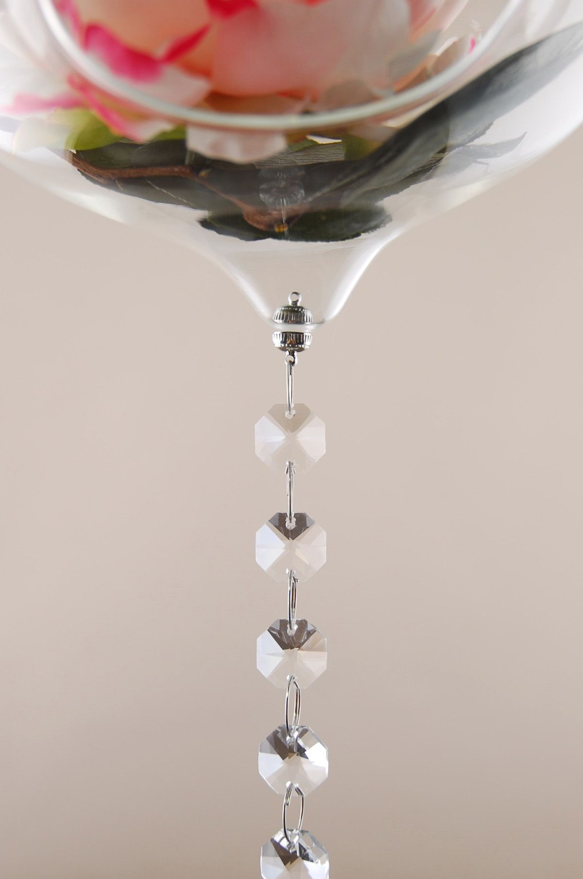 Tiny chandelier magnets for hanging terrariums between crystal chandelier magnets 6 pairs aloadofball Image collections