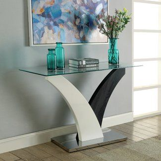 Natalia Coffee Table Modern Console Tables Modern Sofa Table