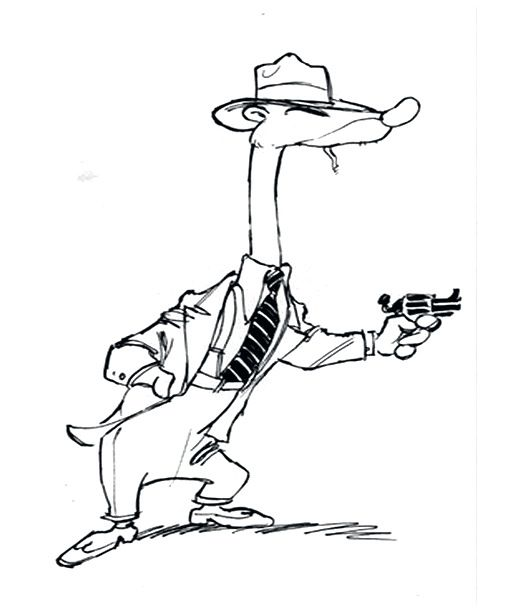 roger rabbit characters coloring pages - photo#14