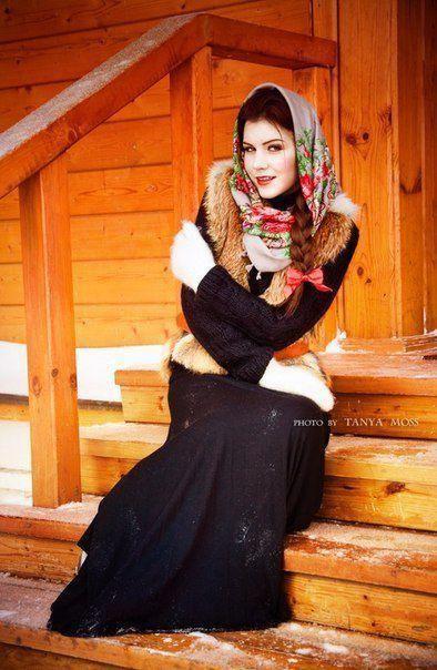 Славянская красота | Наряды, Красота, Фото лента