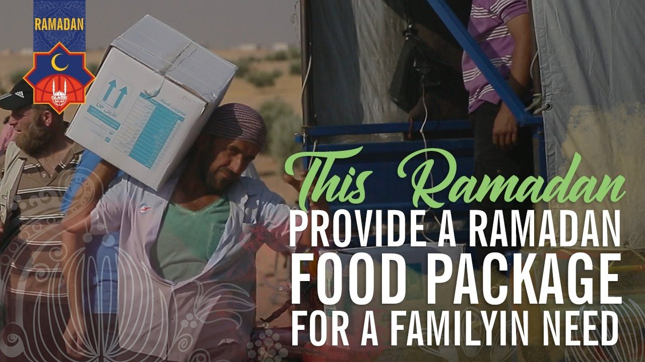 Islamic Relief USA - Ramadan 2017 - Send a Food Package to a