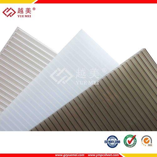 Gray Pc Twin Wall Hollow Sheet Ympcsheet Gary Twin Wall Hollow Sheet Lexan Pc Sheet 8mm Plastic Sheet Plastic Sheets Sheet Wall