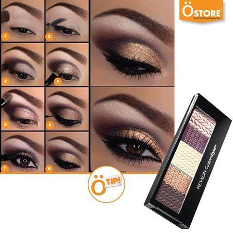 Para una mirada intensa, un maquillaje REVLON. De venta en Östore #Perfect #MakeUp Emoticono colonthree   *Aplican restricciones