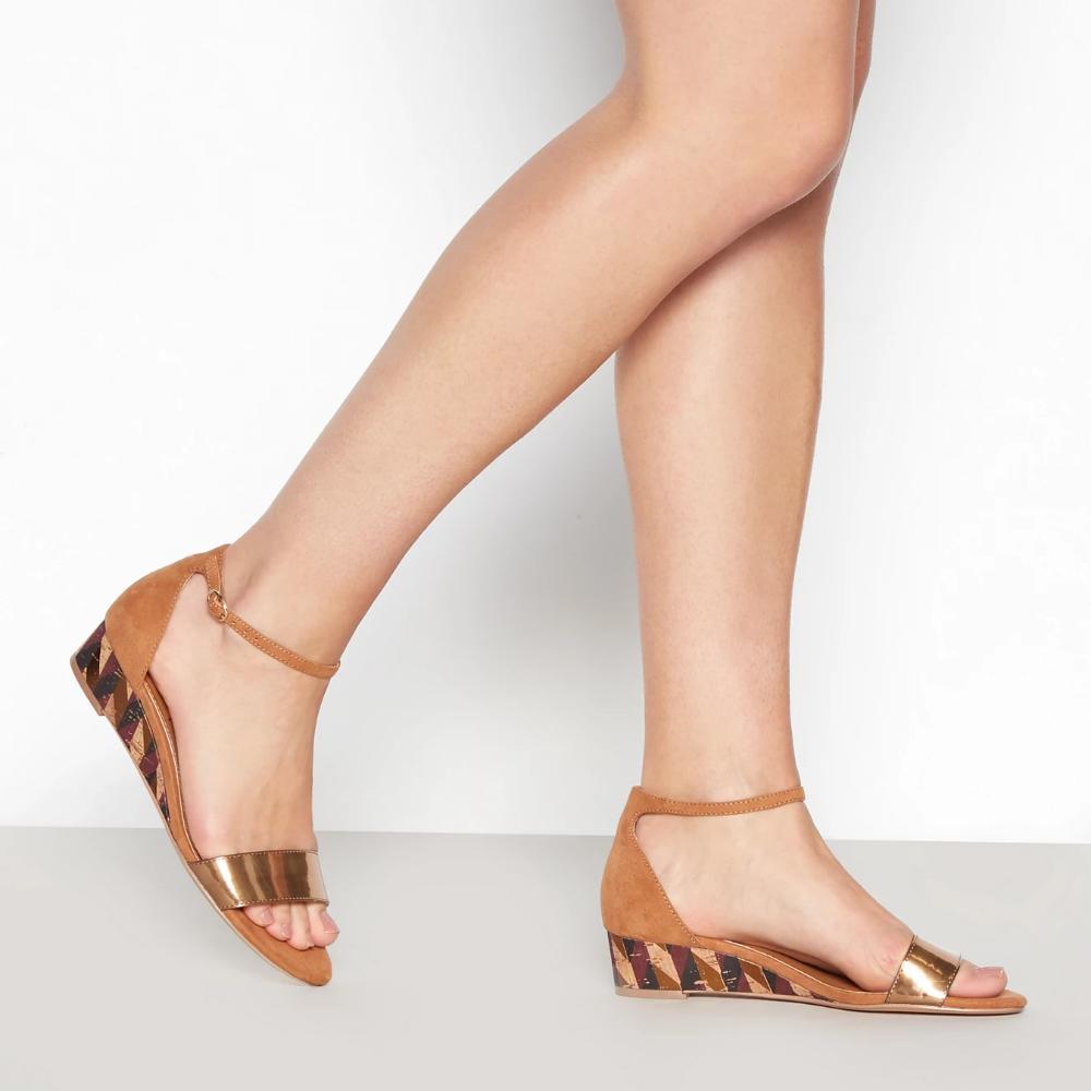 Wedge Heel Sandals   Wedge heels