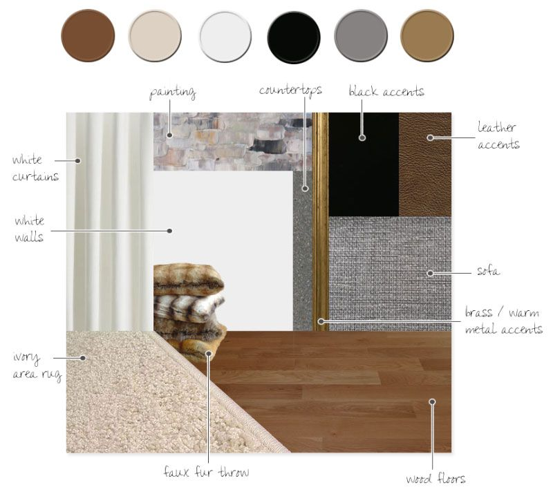 Hvh interiors our new berlin apartment colour - Materials needed for interior design ...