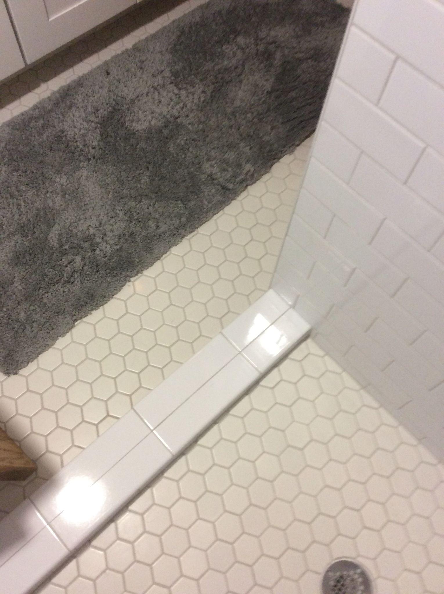 Walk In Shower Threshold Bath Redo Shower Threshold Walk In