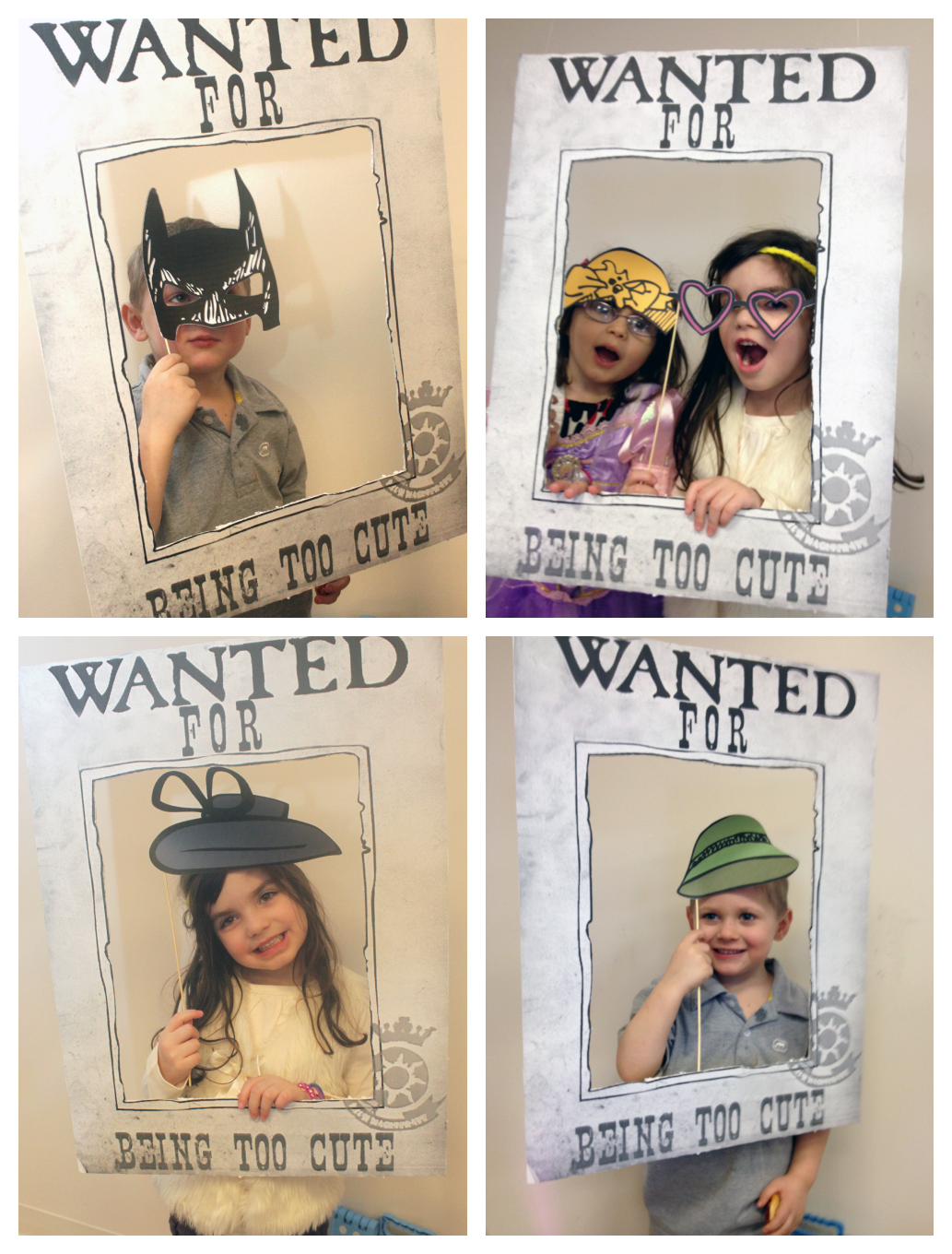 Wanted Poster Photo Booth {Tangled Birthday Party} | cumple leo ...