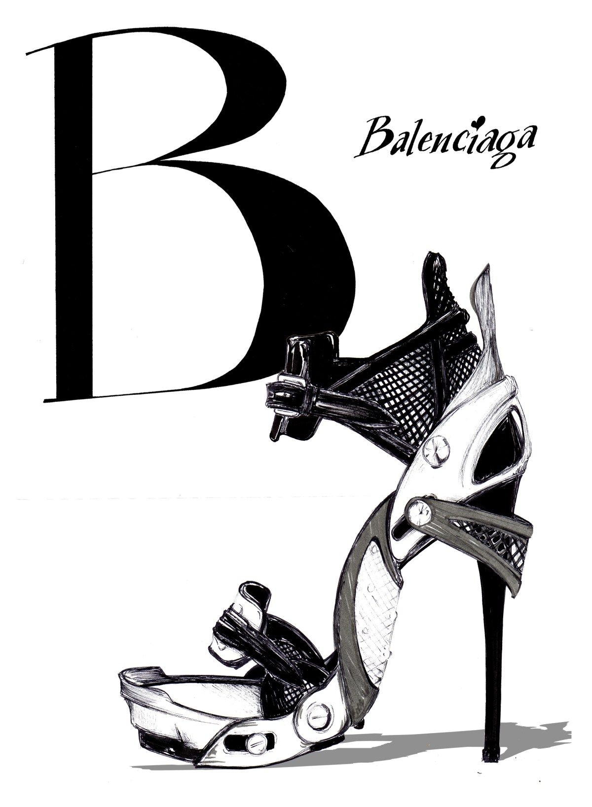 B is for Balenciaga