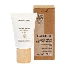 comfort zone sacred nature nourishing protective mask . Meest natuurlijke huidverzorging, zonder chemische toevoeging.