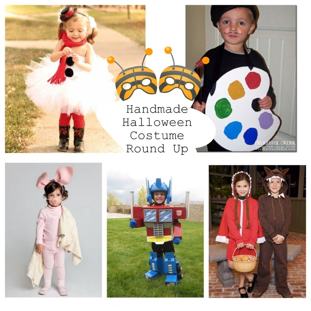 Handmade Halloween Costume Round Up - | DIY Halloween, Halloween ...