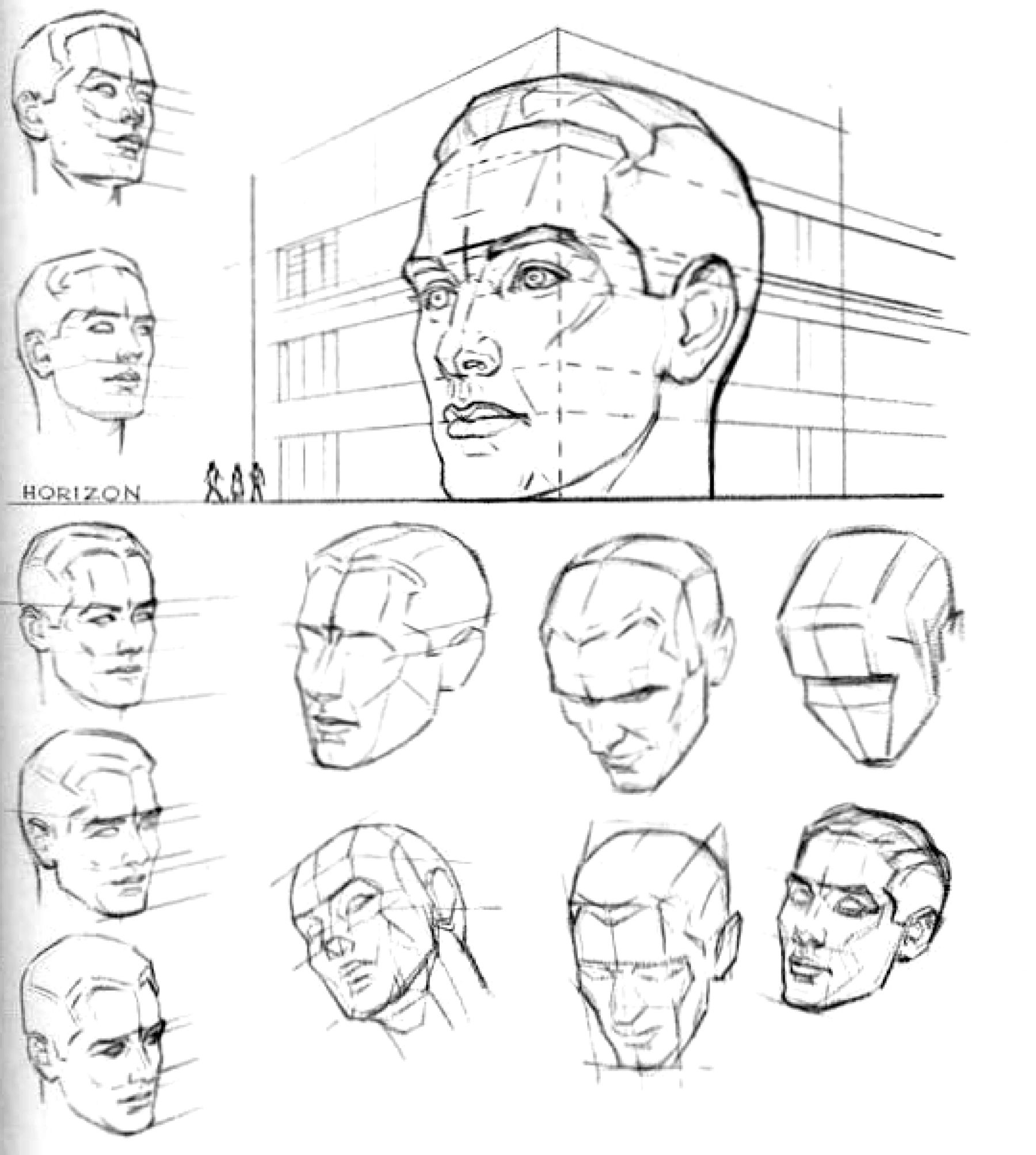 Drawing Techniques Methods Archives How To Draw Step By Step Drawing Tutorials Human Drawing Drawing Techniques Portrait Drawing