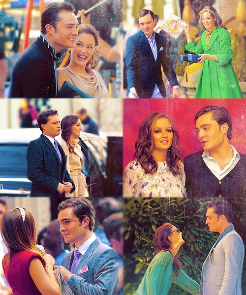Chuck and Blair :) Guilty.