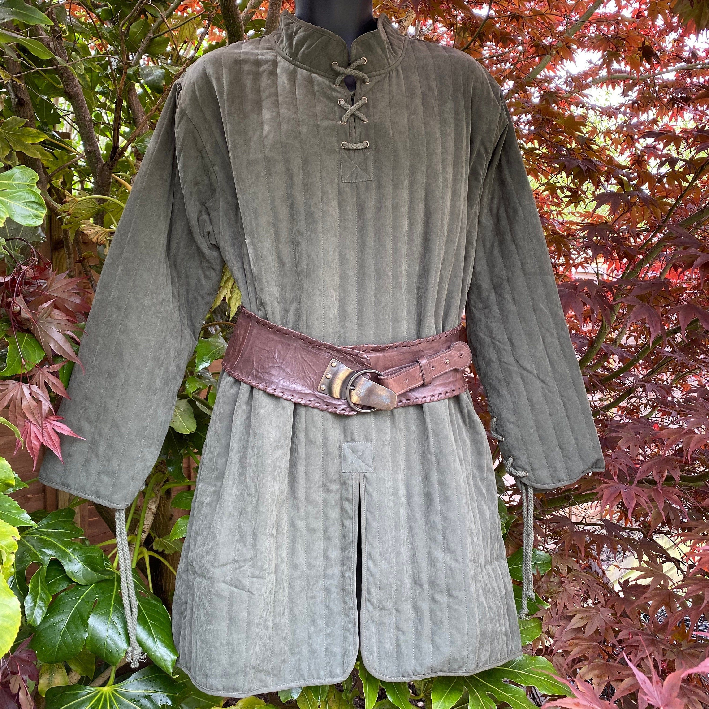 LARP Saxon Long Tunic Green