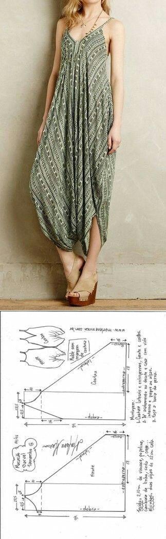 Patrón de guardapolvos ... <3 Deniz <3   ropa para mujeres ...