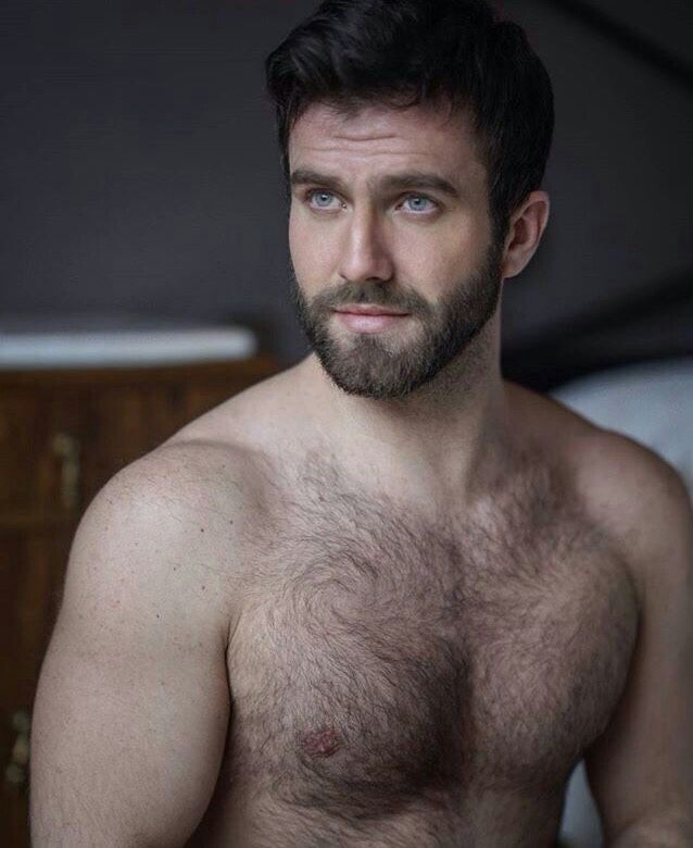 Apologise, lightly hairy chest