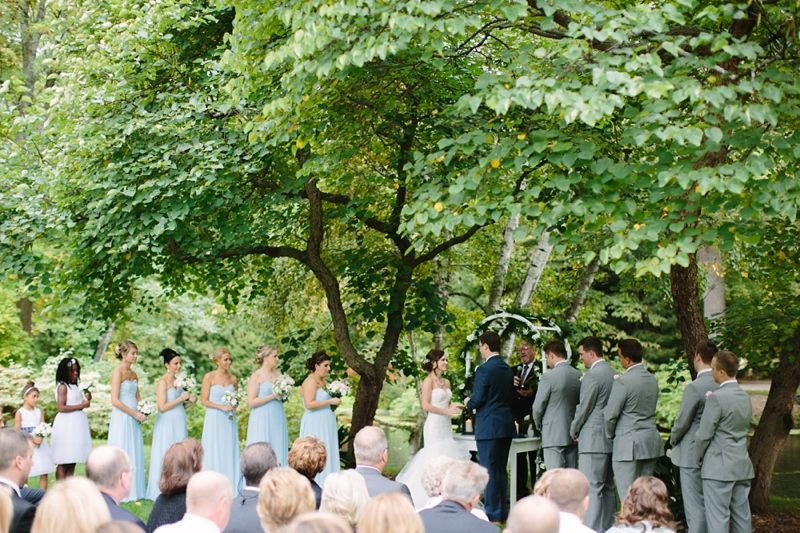 Midland Mi Wedding Bethany Brad Dow Gardens Dan Photography