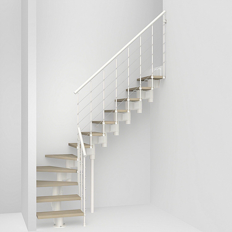 Escalier 1 4 Tournant Escalier A Volee En Quart Tournant Longtube Structure Acie Pixima En 2020 Escalier Prefabrique Escalier 1 4 Tournant Et Escalier Blanc