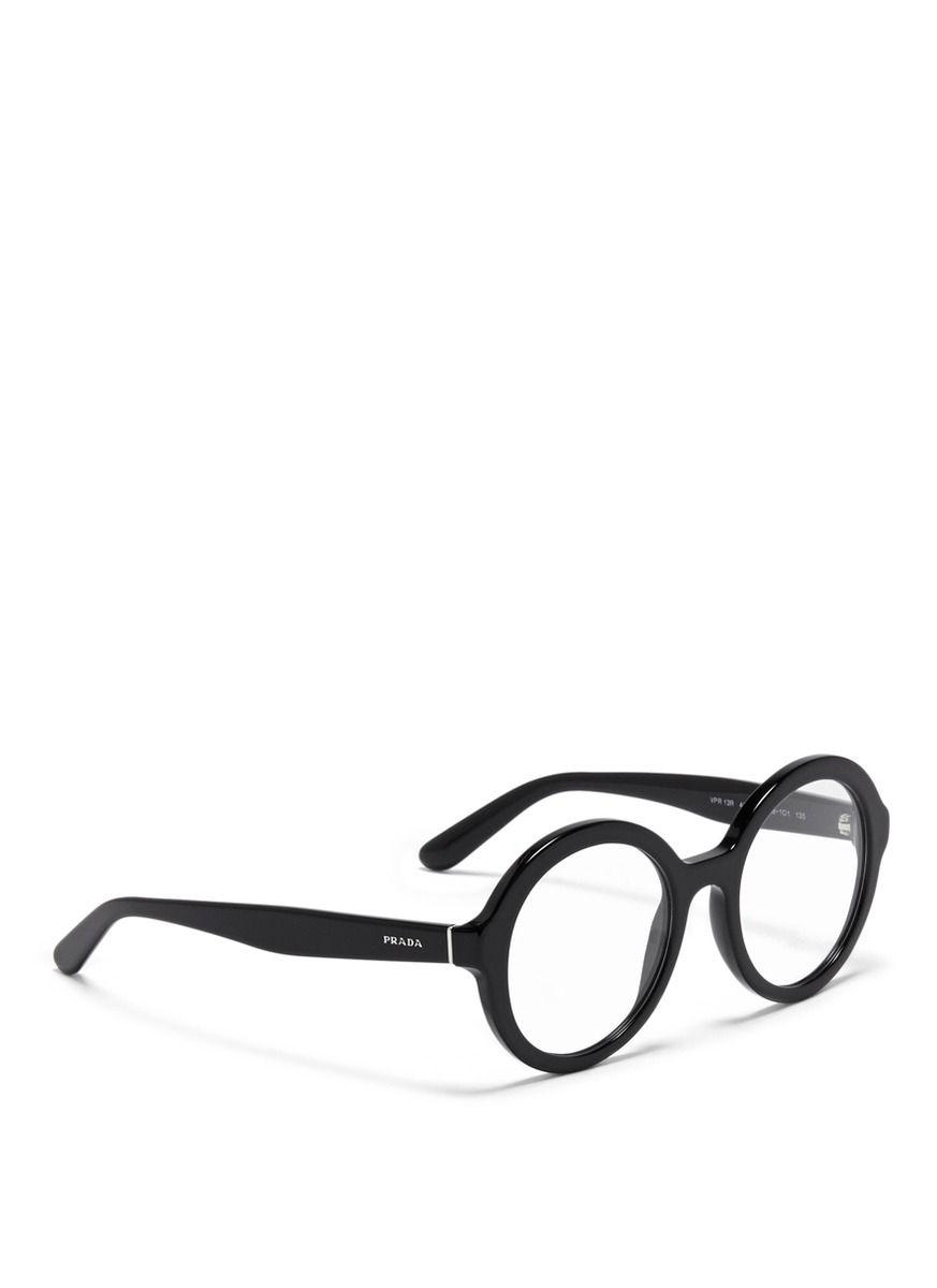 83e326905f8 PRADA - Round optical glasses