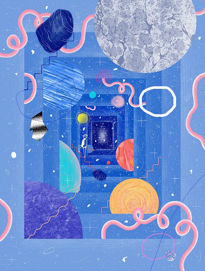 Illustration for NAUTILUS magazine. By Gizem Vural. | Nghệ thuật ...