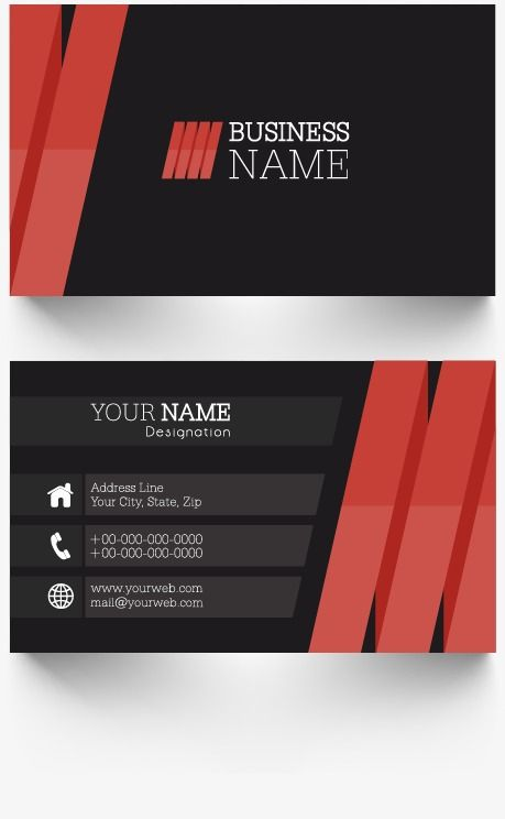Business Card Personal Business Cards Simple Business Cards Business Cards Creative