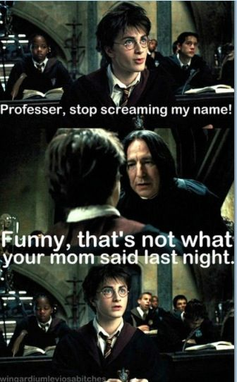 Lol snape | Funny in 2019 | Harry potter comics, Harry