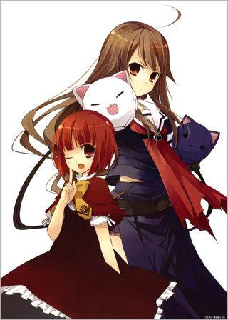 Okami-san and Her Seven Companions. I adore Okami! (She's the taller one)
