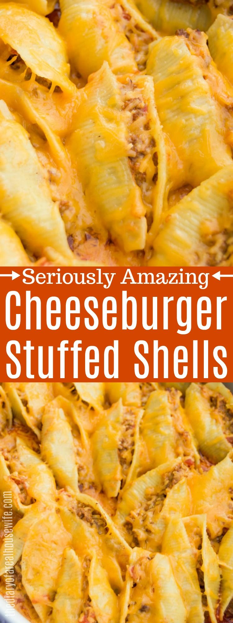Cheeseburger Stuffed Shells images