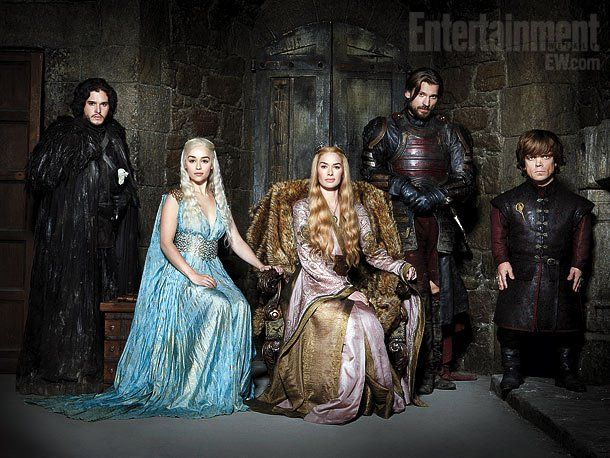 Game of thrones... Okay someone in this picture will die next season. It's inevitable!
