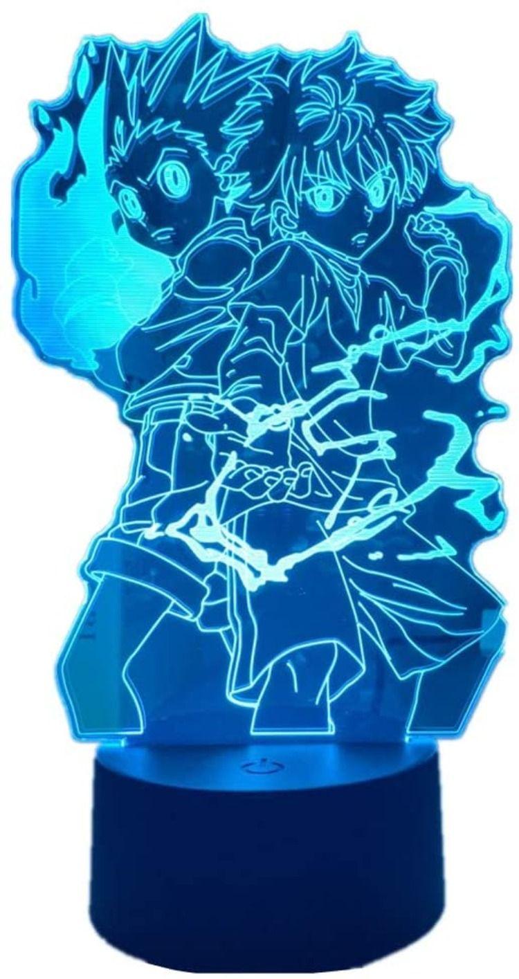 Gon And Killua 3d Led Lamp In 2020