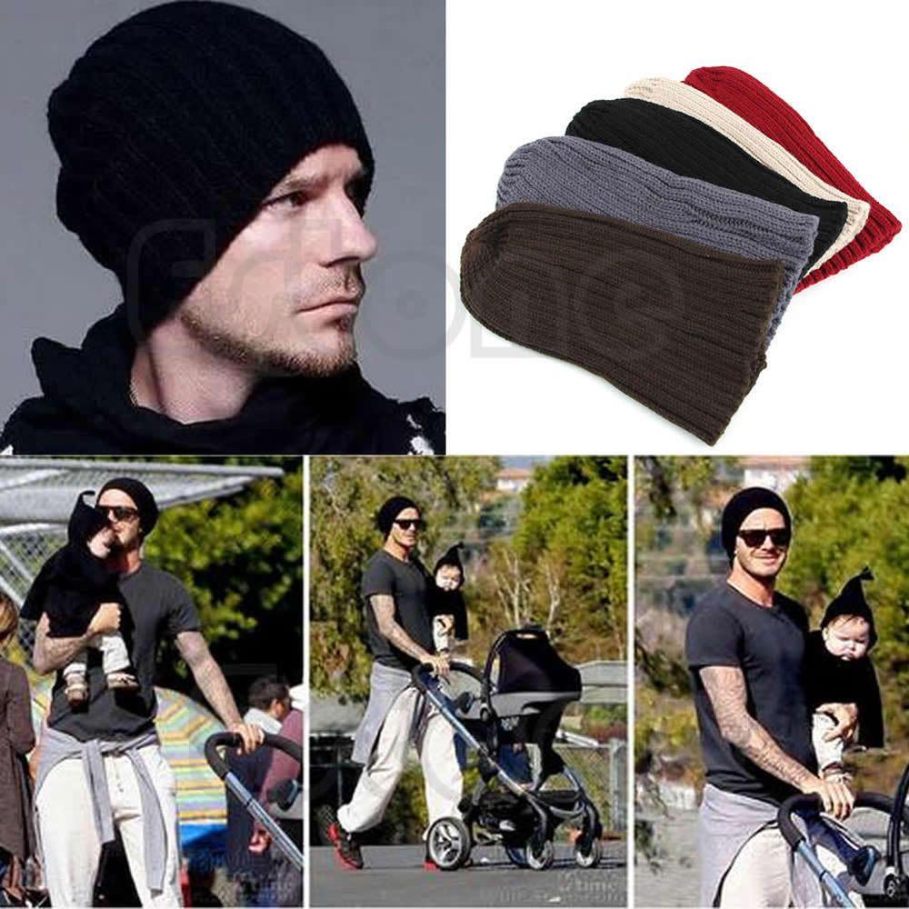 e09e4924563 Unisex Men Hip-Hop Warm Winter Wool Knit Ski Beanie Skull Slouchy Cap Hat   Unbranded  Beanie
