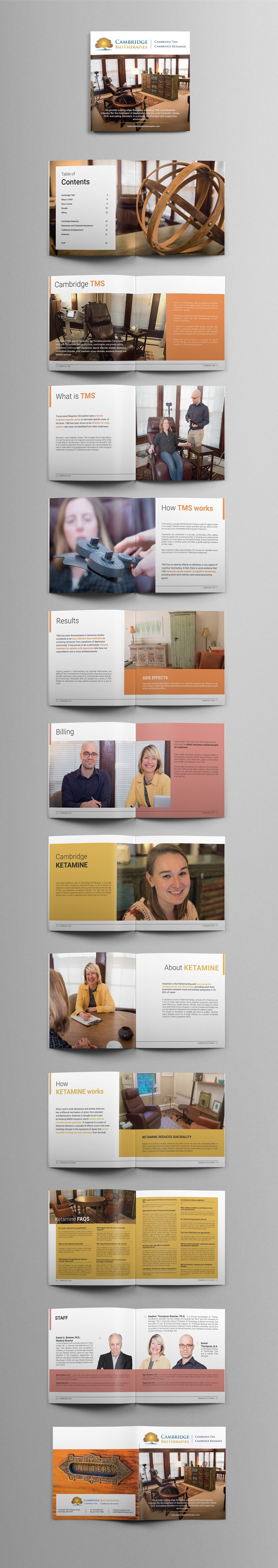 Designs  Brochure Design  Clean And Contemporary  For Mental