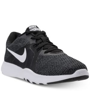 c95180e69ba1 Nike Women s Flex Trainer 8 Training Sneakers from Finish Line - Black 7.5