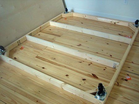 how to make a platform bed on the cheap - Cheap Platform Bed Frame
