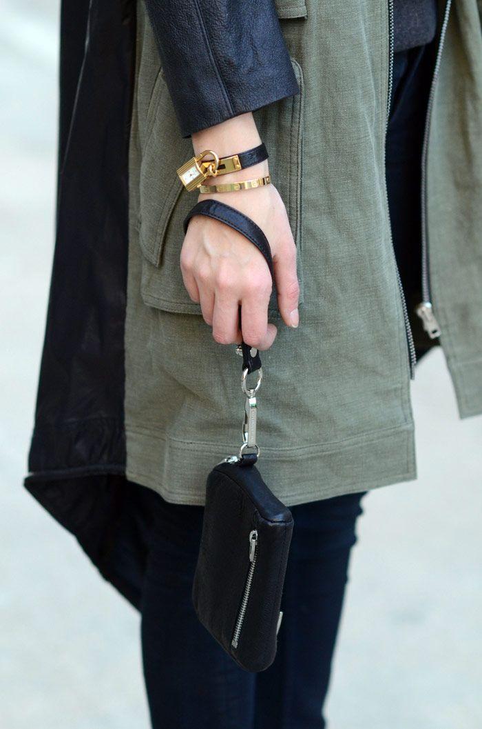 Alexander Wang mini clutch, Alexander Wang + wedges