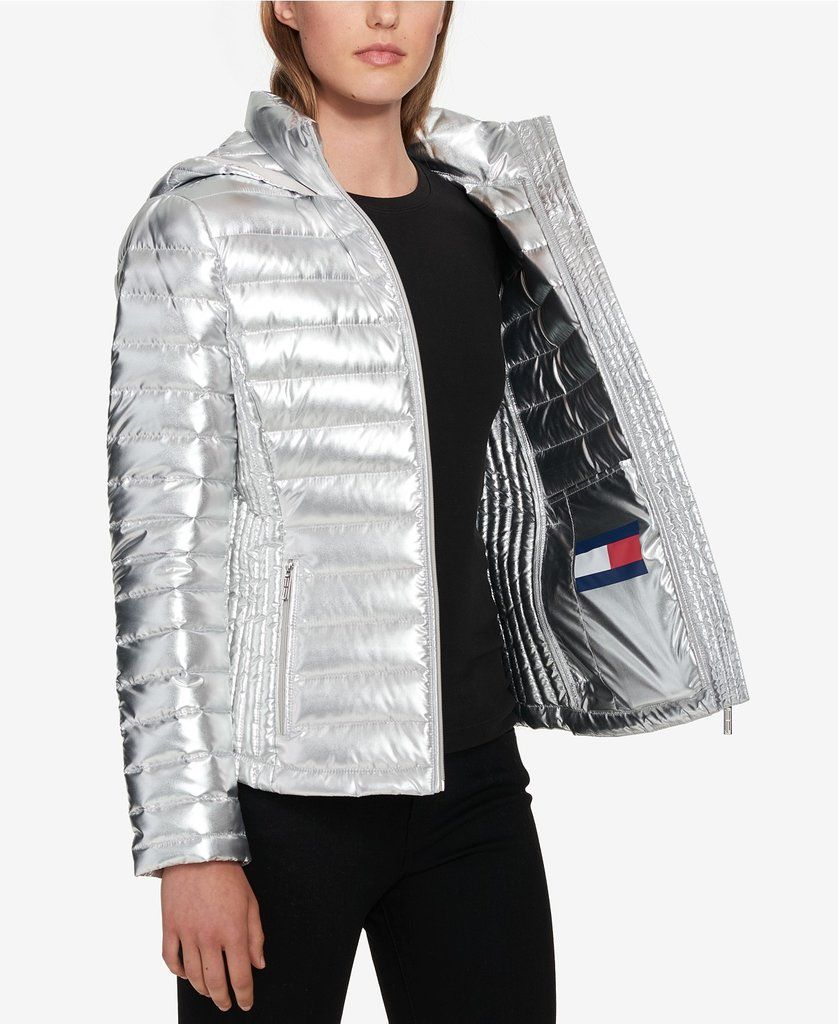 Tommy Hilfiger Packable Hooded Puffer Coat Puffer Coat Tommy Hilfiger Coats Tommy Hilfiger [ 1024 x 838 Pixel ]