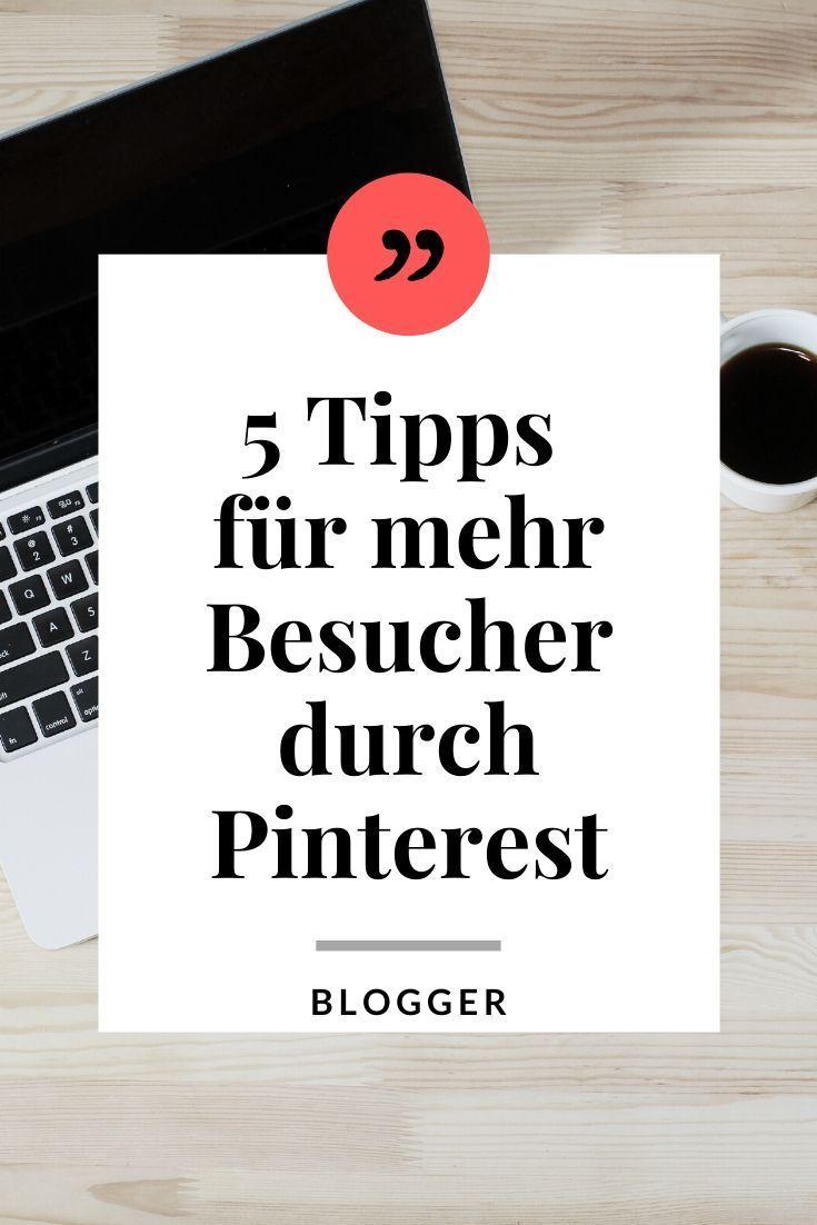 Mehr Traffic Für Deinen Blog - Die 5 Besten Pinterest ...