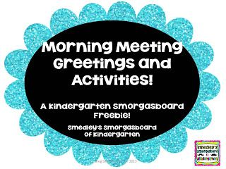 Morning meeting greetings and activities ideas for school morning meeting greetings and activities m4hsunfo Image collections