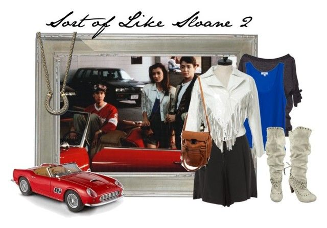 """Sort of Like Sloane 2"" by jackie-s-eyeslikeacat ❤ liked on Polyvore featuring Souffle, OTTE, Sportmax, Wilsons Leather, Mattel, Life With Bird and Not Rated"