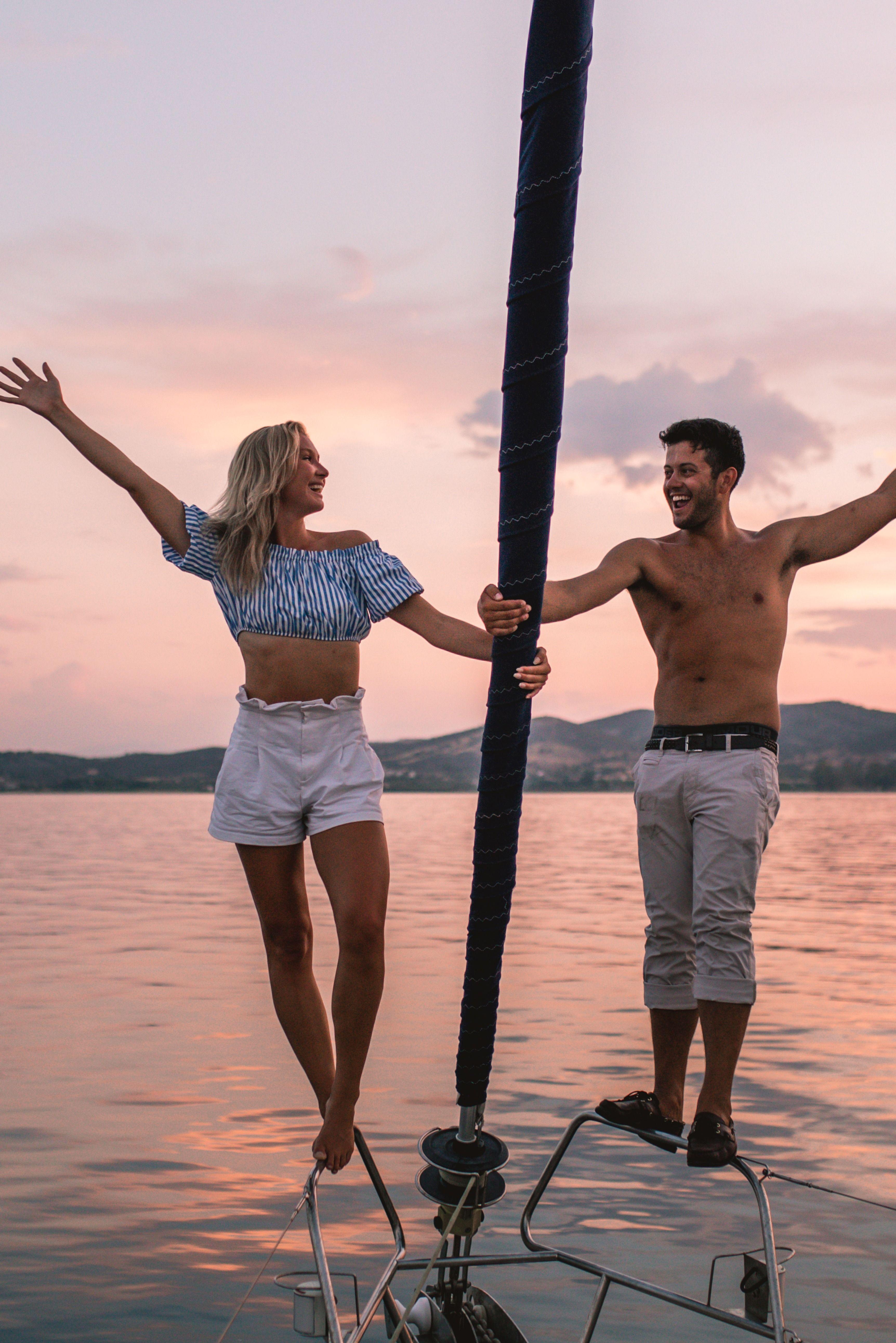 love lovetheyachtweek sunset beautiful yacht holiday