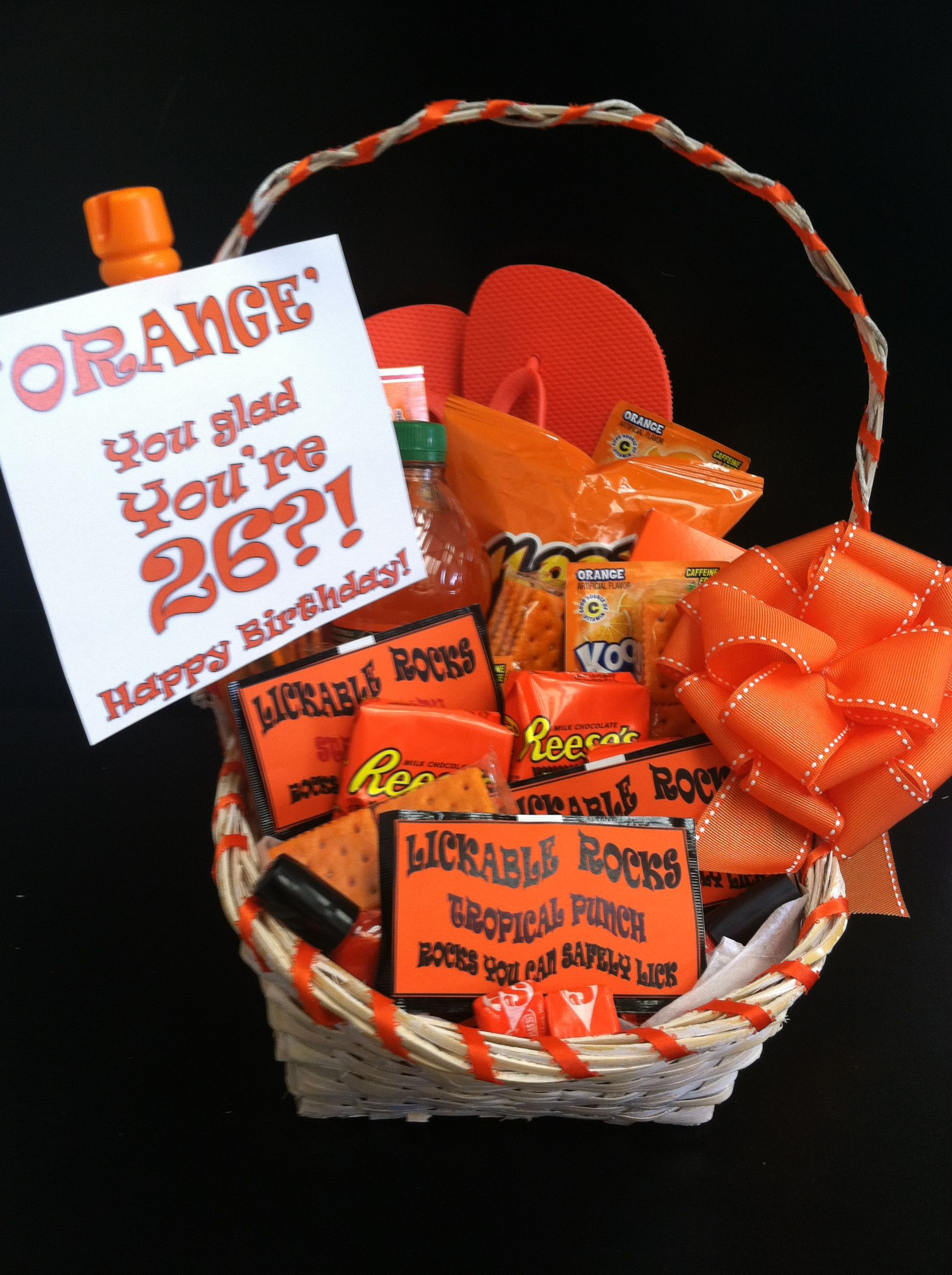 Pin By Meg Hallengren On Gift Giving Diy Gift For Bff Orange Flip Flops Diy Gifts