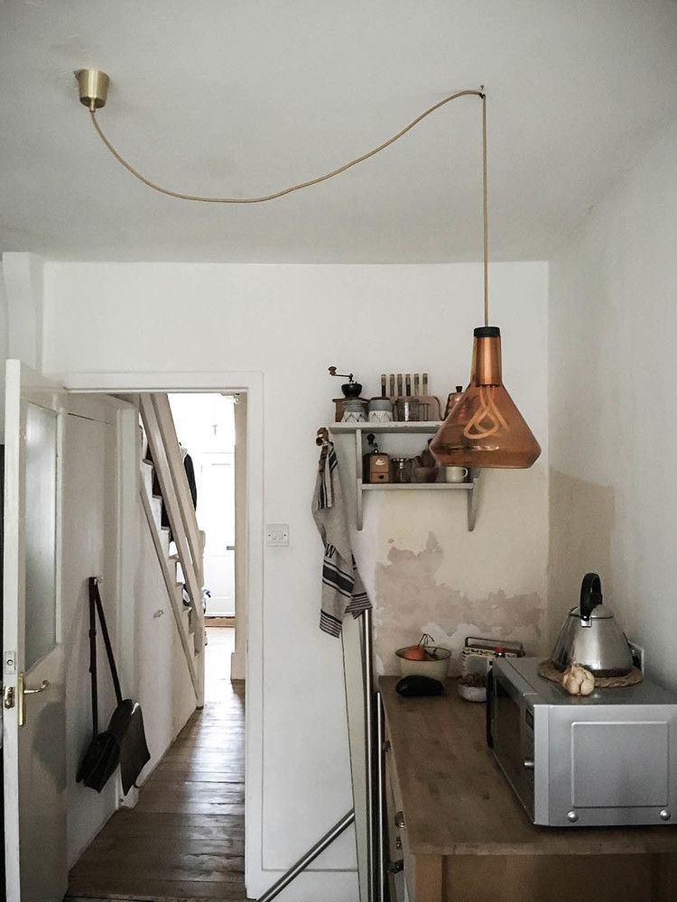 Plumen drop top lamp shade styled by mademoiselle poirot