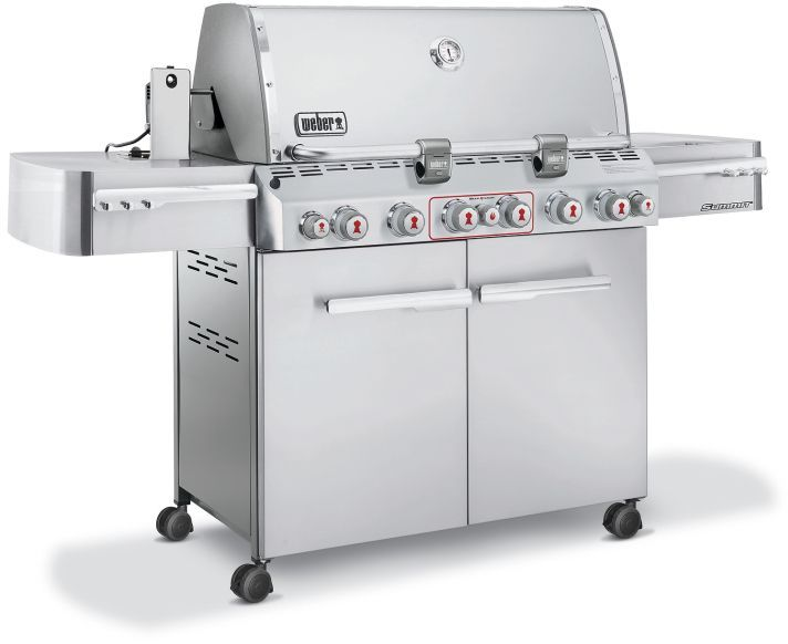 Weber Summit S 670 Stainless Steel Gas Grill Gas Grill Weber Gas Grills Grill Sale