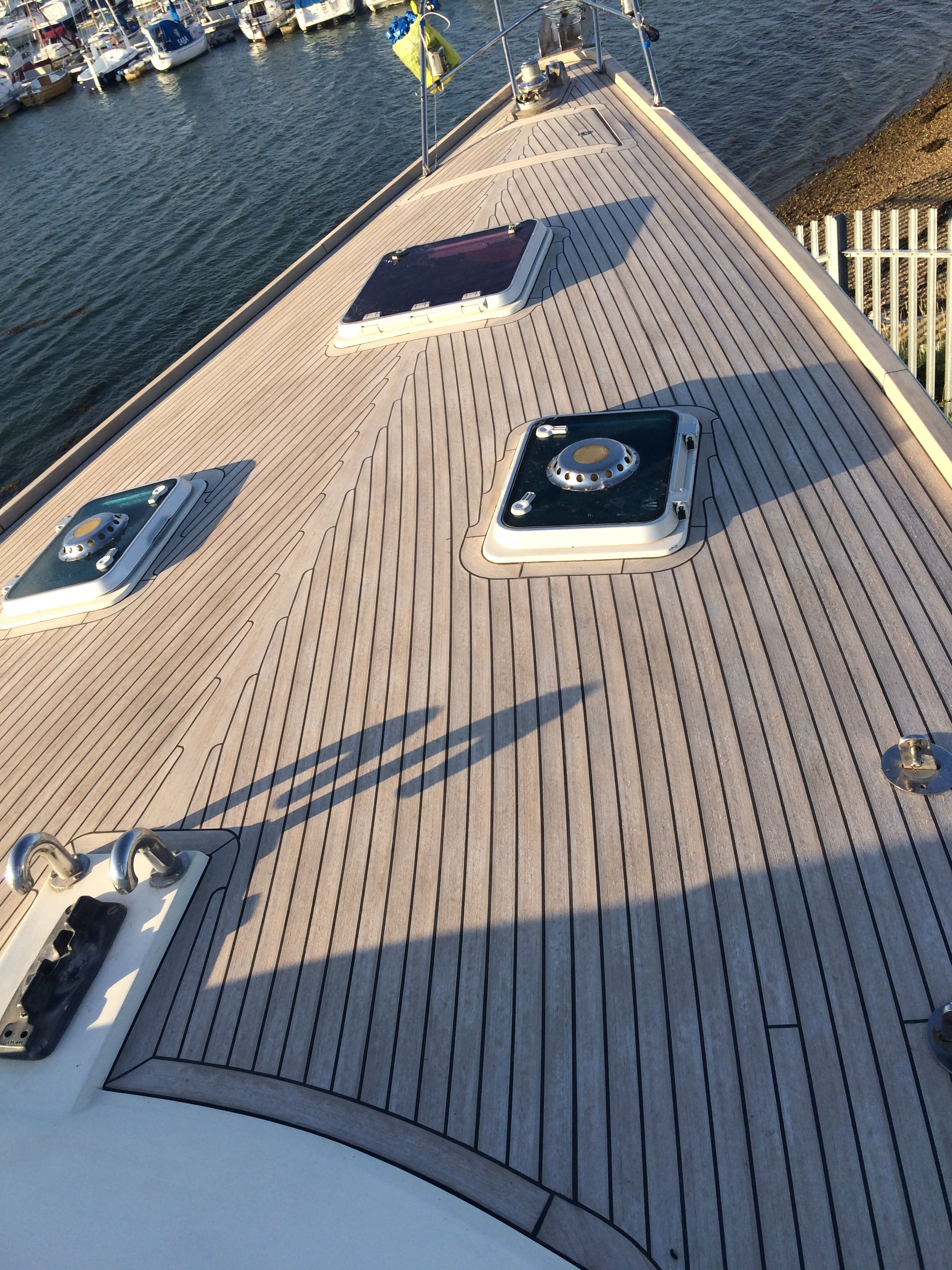 Exterior synthetic boat flooring houseboat composite decking pvc synthetic teak soft boat for Exterior wood decking materials