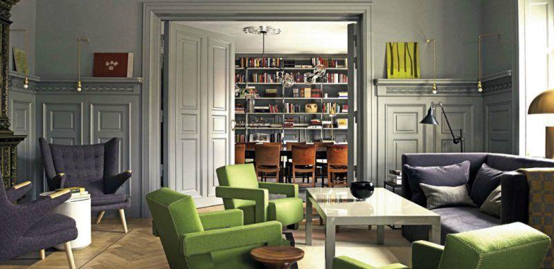 Ett Hem hotel, Stockholm, Sweden. designed by Ilse Crawford.