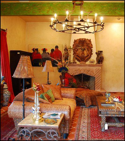 Mexican Home Decor | ... Mexican Rustic Style Decor   Wolf Theme Bedrooms