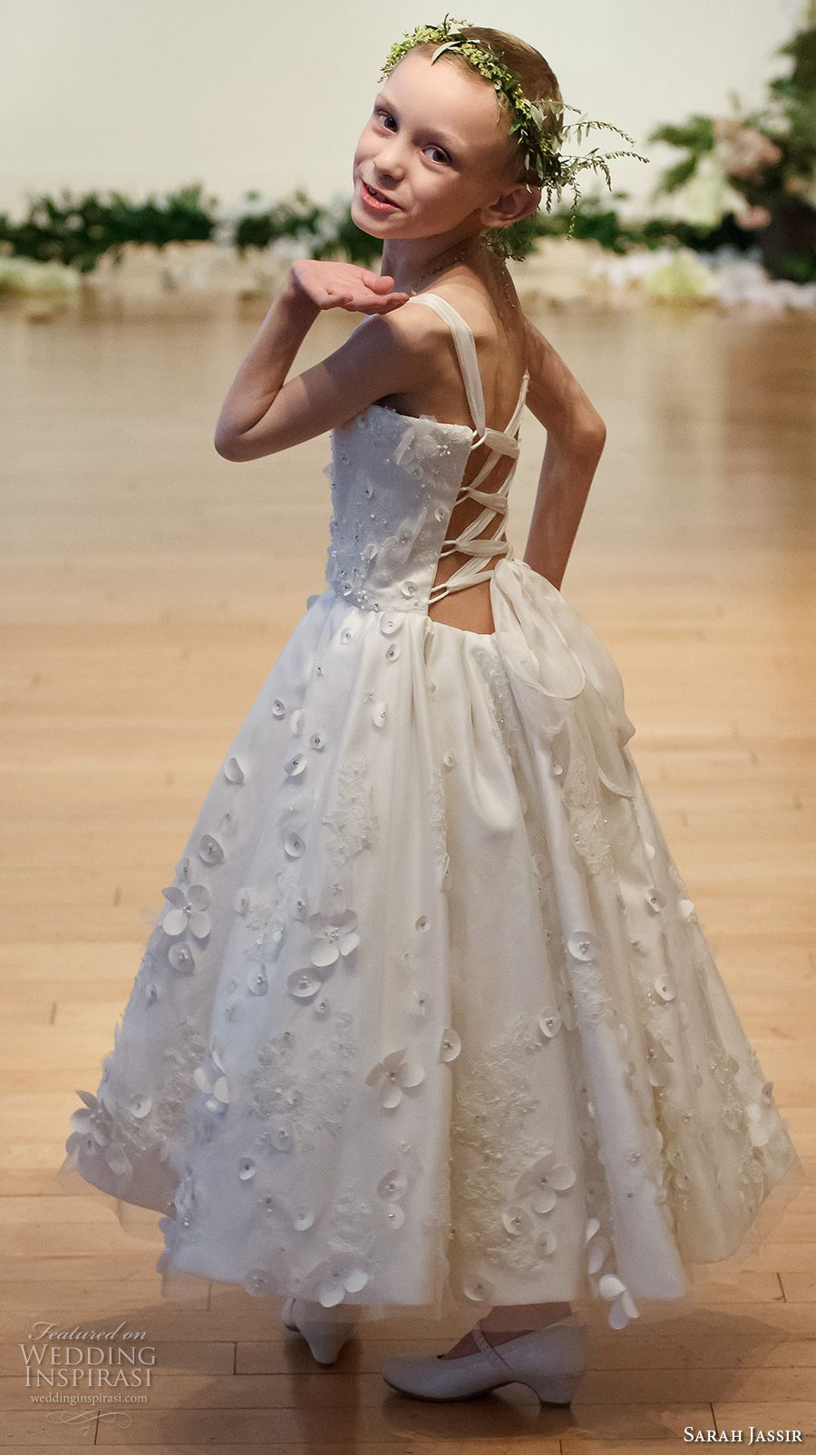 "Sarah Jassir 2017 Wedding Dresses — ""The Secret Garden"" Bridal ..."