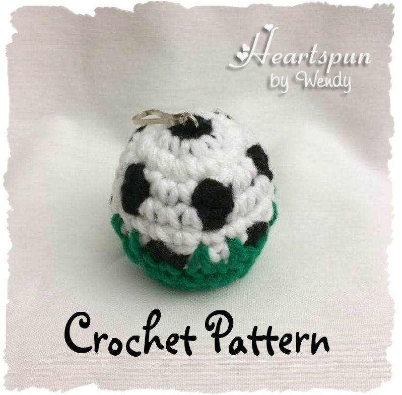 Crochet Pattern To Make A Soccer Ball In The Grass Eos Lip Balm