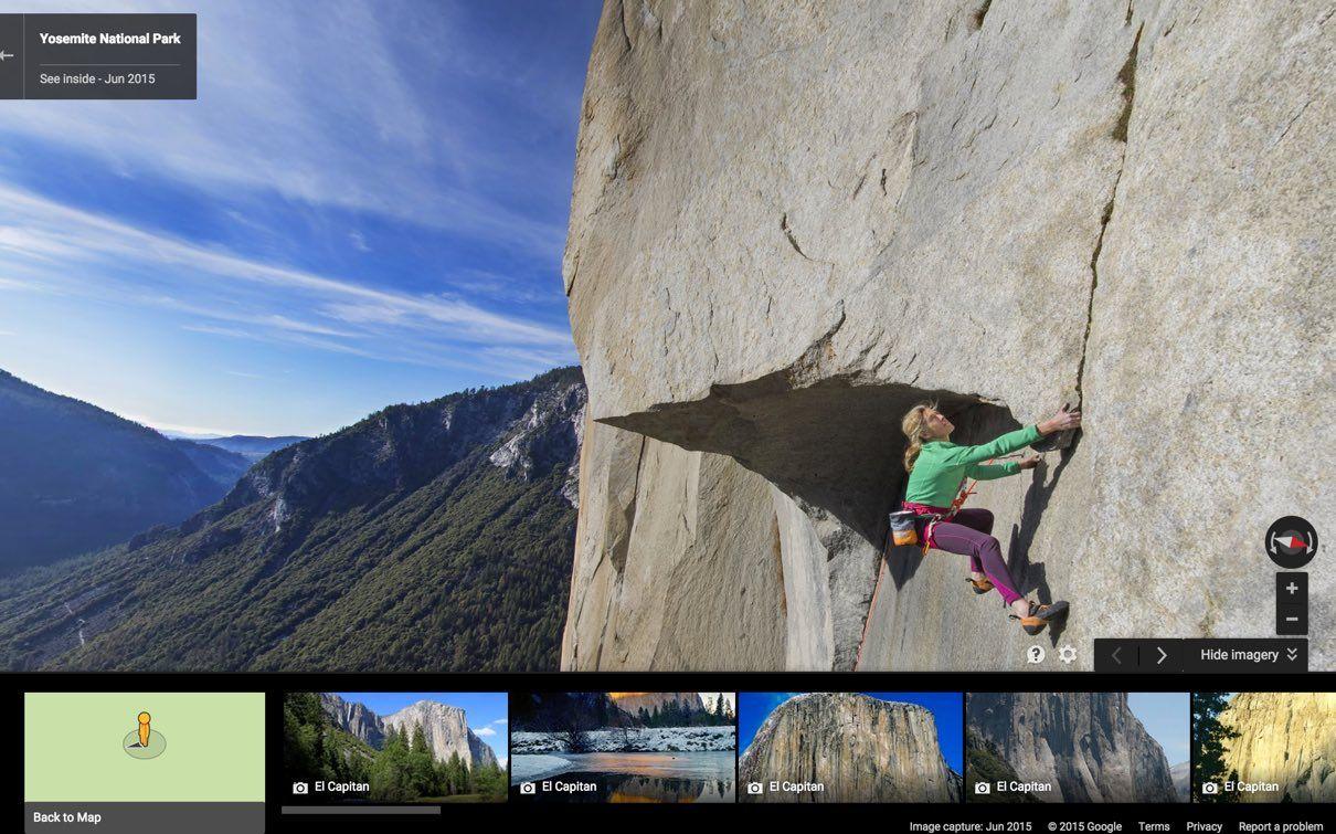 Yosemite Climbing El Capitan Lyn Hill Google Search Big Walls - Two climbers scale 3000ft hardest route world