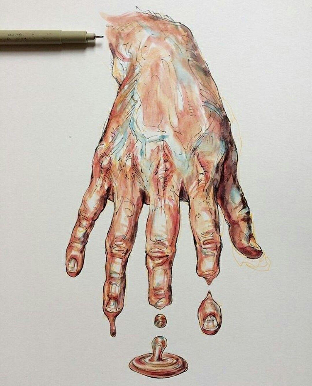 U4APSA Likes Surrealistic Strong Colors But Prevalent Linework Gcse ArtCreative SketchesCreative